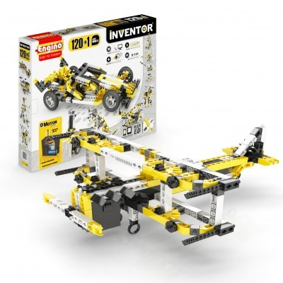 INVENTOR 120 MODELS MOTORIZED SET - ENGINO 12030