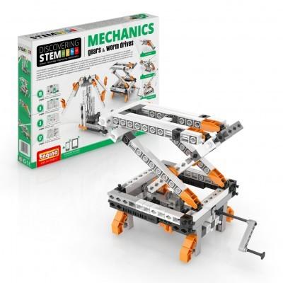 MECHANICS (Gears & Worm drives) - ENGINO STEM05