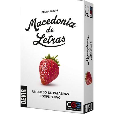 JUEGO MACEDONIA DE LETRAS - DEVIR