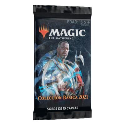 MAGIC SOBRE COLECCION BASICA 2021 - MAGIC THE GATHERING