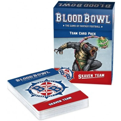 BLOOD BOWL SKAVEN TEAM CARD PACK - GAMES WORKSHOP 200-41