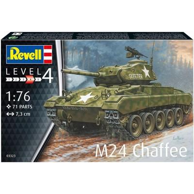 CARRO DE COMBATE M-24 CHAFFE -Escala 1/76- Revell 03323