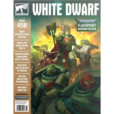 REVISTA WHITE DWARF 458 EN INGLES