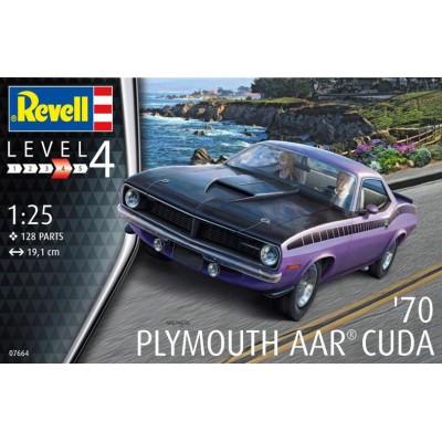 PLYMOUTH AAR CUDA 1970 -Escala 1/25- Revell 07664