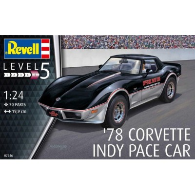 CHEVROLET CORVETTE INDY CAR 1978 -Escala 1/24- Revell 67646