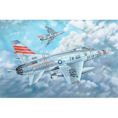 NORTH AMERICAN F-100 C SUPER SABRE -Escala 1/35- Trumpeter 01079
