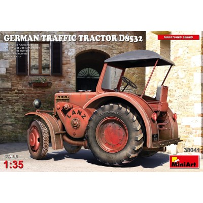 TRACTOR LANZ D8532 TRAFFIC -Escala 1/35- MiniArt 38041