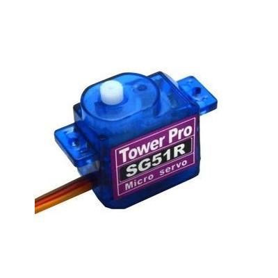SERVO MINI DIGITAL 5GRMS - TORQUE 0.6KGS TOWER PRO