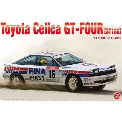 TOYOTA CELICA DT-FOUR ST165 (Tour de Corse 1991) -Escala 1/24- Nunu PN24015