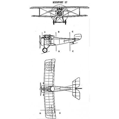 NIEUPORT Ni-17 -Escala 1/72- Eduard 7404