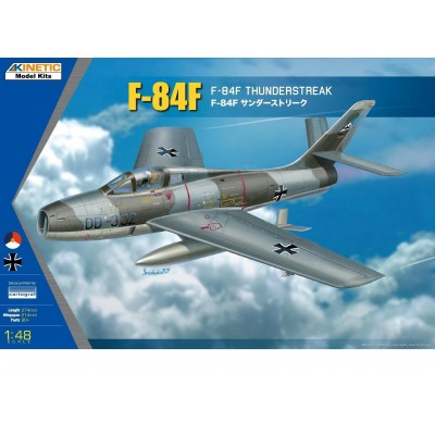 REPUBLIC F-84 F THUNDERSTREAK -Escala 1/48- Kinetic K48068