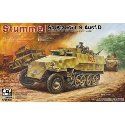 SEMIORUGA Sd.Kfz. 251/9 Ausf. D STUMMEL -Escala 1/35- AFV Club AF35278