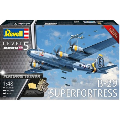 BOING B-29 A SUPERFORTRESS (Ed. Platinum) -Escala 1/48- Revell 03850