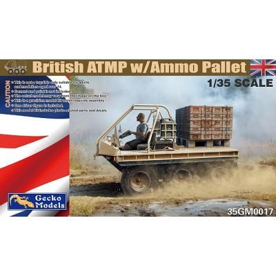 VEHICULO ATMP & PALLET MUNICION -Escala 1/35- Gecko Models 35GM0017