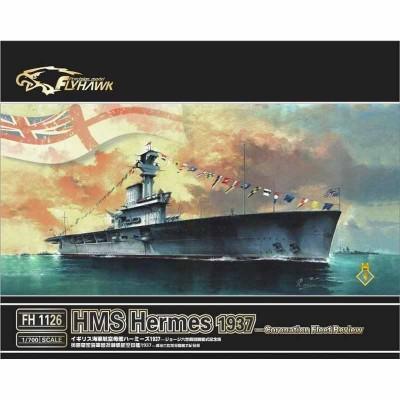 PORTAAVIONES H.M.S. HERMES (1937) -Escala 1/700- Fly Hawk FH1126