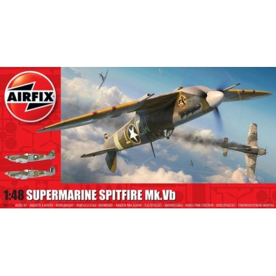 SUPERMARINE SPITFRE MK.Vb - ESCALA 1/48 - AIRFIX 05125