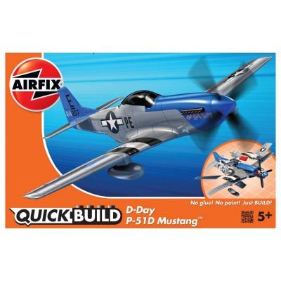 QUICKBUILD: P-51D MUNSTANG - Airfix J6046
