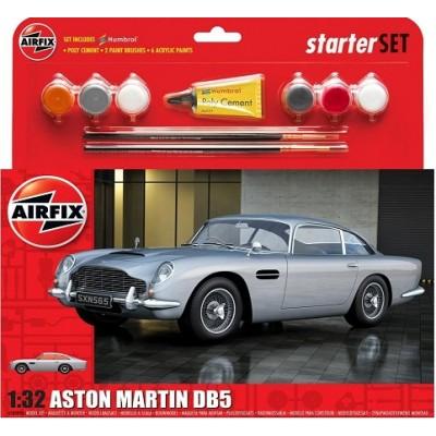 ASTON MARTIN DB5 escala 1/32 (Pintura + Pegamento) Airfix 50089B