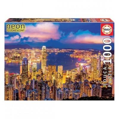 PUZZLE NEON 1000 PZAS HONG KONG - EDUCA 18462