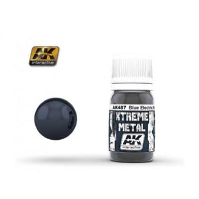 XTREME METAL METALLIC BLUE 30 ml - AK 487