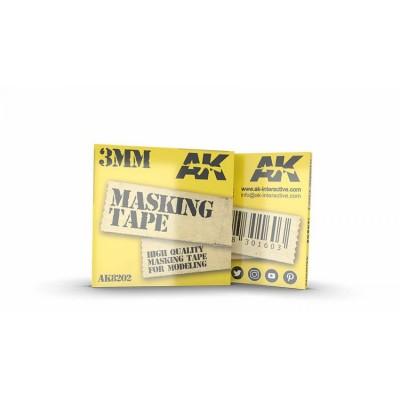 MASKING TAPE 3 mm - AK Interactive 8202