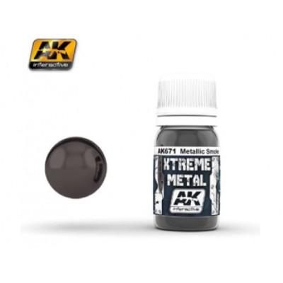 XTREME METAL SMOKE METALLIC 30 ml - AK 671