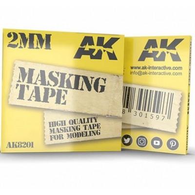 MASKING TAPE 2 mm - AK Interactive 8201