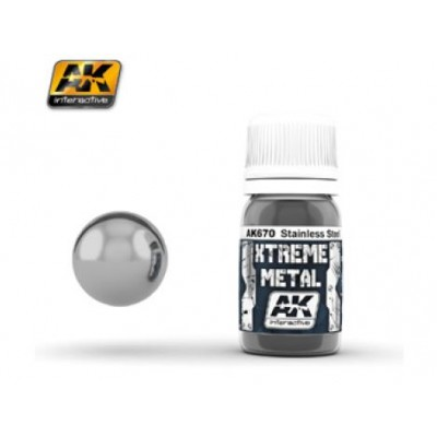XTREME METAL STAINLESS STEEL 30 ml - AK 670