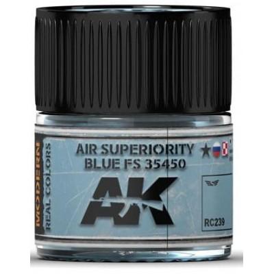 PINTURA REAL COLORS AIR SUPERIORITY BLUE FS35450 (10 ml) - AK Interactive RC239
