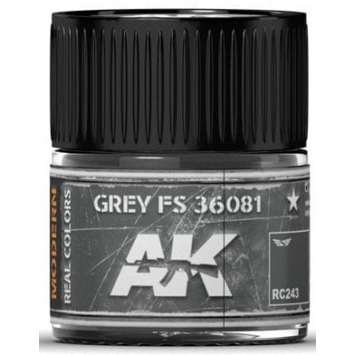 PINTURA REAL COLORS GREY FS36081 (10 ml) - AK Interactive RC243