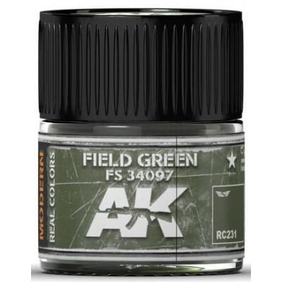 PINTURA REAL COLORS FIELD GREEN FS34097 (10 ml) - AK Interactive RC231