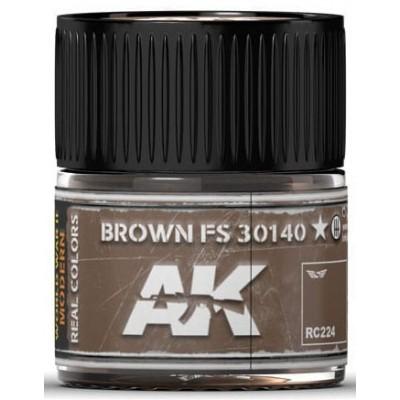 PINTURA REAL COLORS BROWN FS30140 (10 ml) - AK Interactive RC224