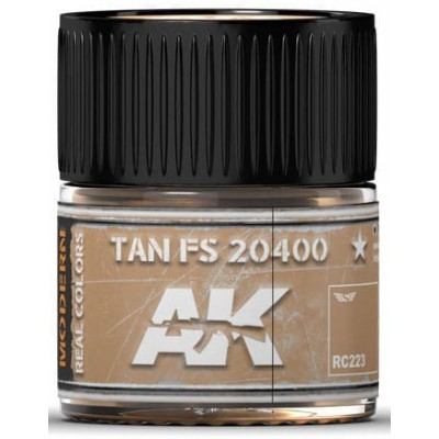 PINTURA REAL COLORS TAN FS20400 (10 ml) - AK Interactive RC223