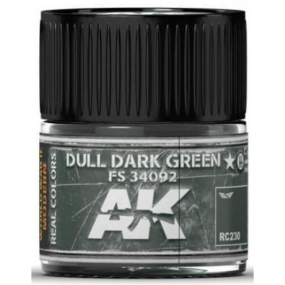 PINTURA REAL COLORS DULL DARK GREEN FS34092 (10 ml) - AK Interactive RC230