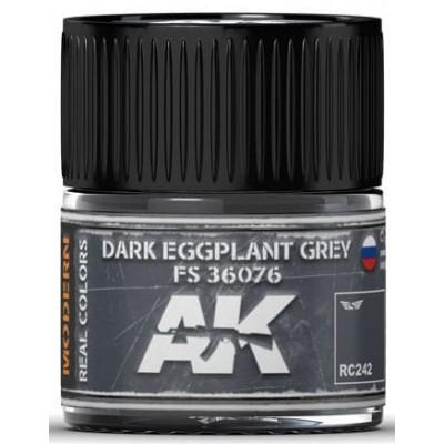 PINTURA REAL COLORS DARK EGGPLANT GREY FS36076 (10 ml) - AK Interactive RC242