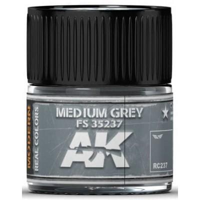 PINTURA REAL COLORS MEDIUM GREY FS35237 (10 ml) - AK Interactive RC237