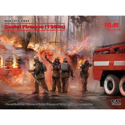 BOMBEROS RUSOS (1980) -Escala 1/35- ICM 35623