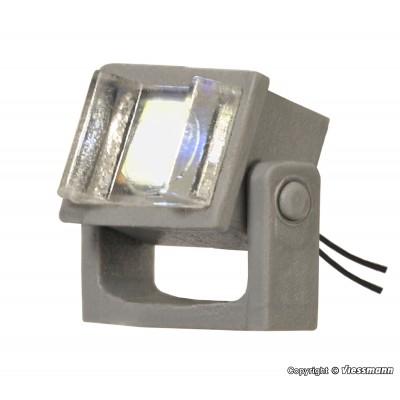 FOCO ORIENTABLE CON LED - ESCALA H0 (1/87) VIESSMANN 6338 (5x3x4 mm)