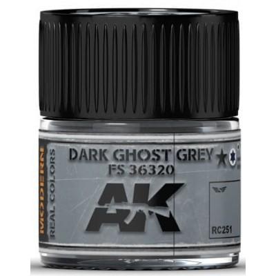 PINTURA REAL COLORS DARK GHOST GREY FS36320 (10 ml) - AK Interactive RC251