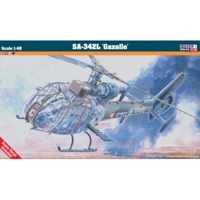 SA-342L GAZELLE - ESCALA 1/48 - MISTERCRAFT 060336