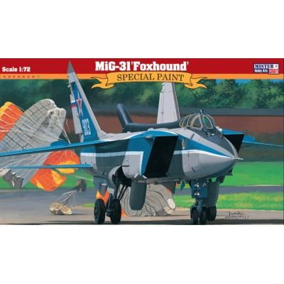 MIG-31 FOXHOUND - ESCALA 1/72 - MISTER CRAFT 070526