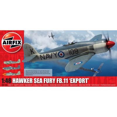 HAWKER SEA FURY FB.11 -Export- 1/48 - Airfix A06106