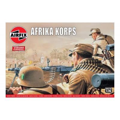 INFANTERIA AFRIKA KORPS - VINTAGE ESCALA 1/76- Airfix A00711