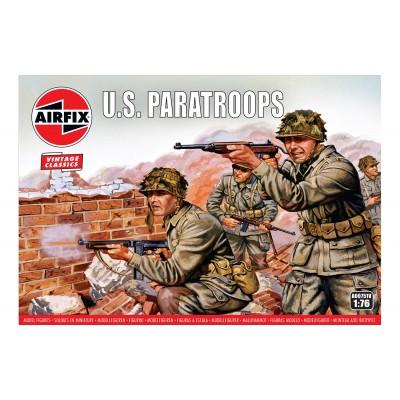 PARACAIDISTAS U.S. (48 piezas) VINTAGE CLASSIC -1/76- Airfix A00751