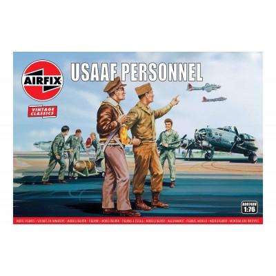 PERSONAL DE TIERRA DE LA USAAF (46 piezas) VINTAGE SERIE - ESCALA 1/76 - AIRFIX A00748V