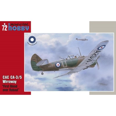 CAC CA-3/5 WIRRAWAY ( FIRST BLOOD OVER RABAUL) - ESCALA 1/72 - SPECIAL HOBBY 72331