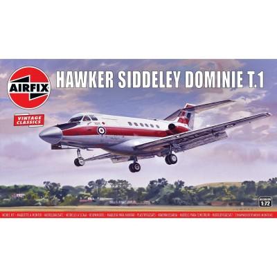 HAWKER SIDDELEY DOMINIE T.1 - VINTAGE SERIES - ESCALA 1/72 - AIRFIX A03009V