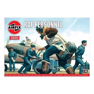 PERSONAL DE TIERRA DE LA R.A.F. (47 piezas) VINTAGE SERES 1/76 - Airfix A0174V