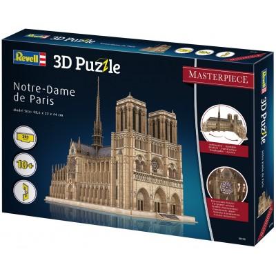 PUZZLE 3D NOTRE DAME DE PARIS - REVELL 00190 (586 x 220 x 440 mm)