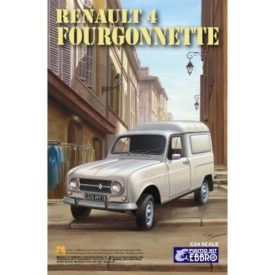 RENAULT 4L FURGONETA -Escala 1/24- Ebbro 25003